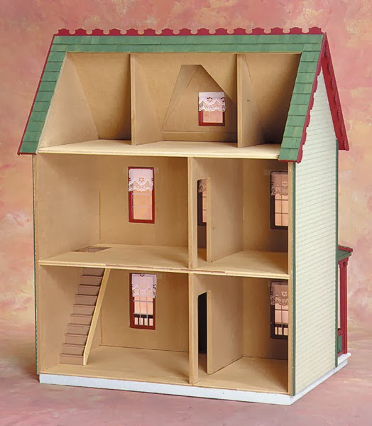 In My Hummel Opinion: Reasonably Priced Roomy Dollhouses :
