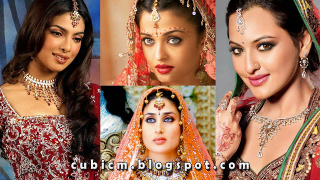 Bollywood Actresses Bridal Look HD Wallpapers