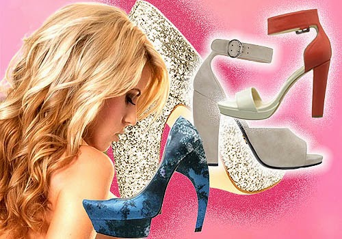 Sepatu Wanita Cone Heels