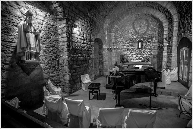 Sant Marçal de Montseny: Antigua iglesia y monasterio, hoy hotel.