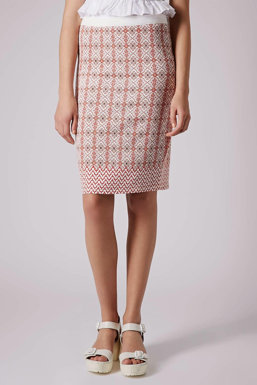 patterned tube skirt