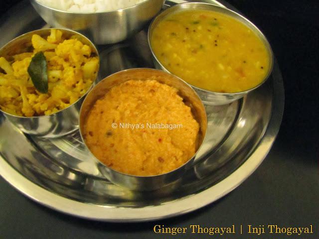 Inji Thuvaiyal