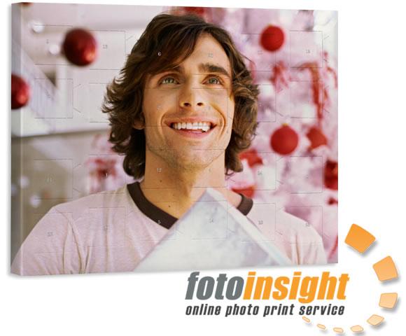Information om foto julekalenderen med chokoladekugler