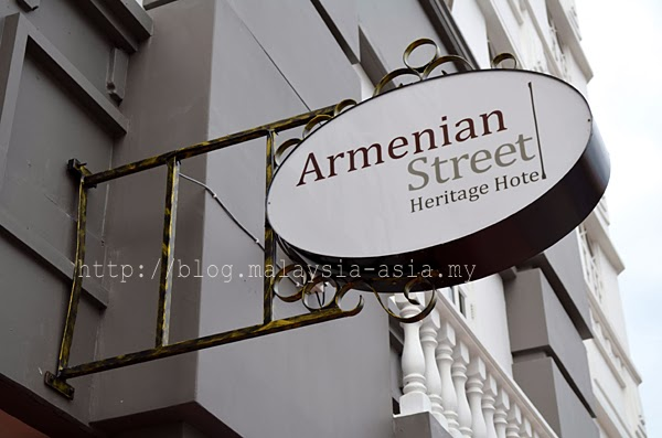 Armenian Street Heritage Hotel in Penang Review