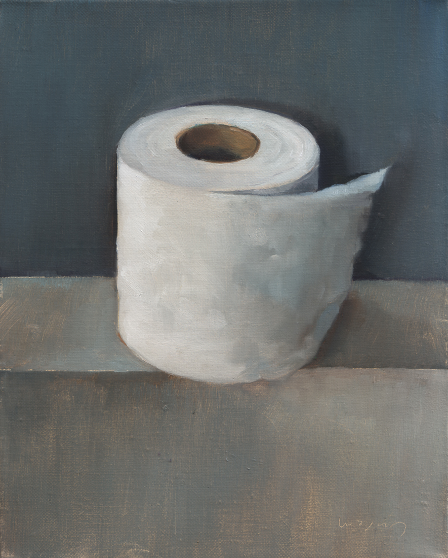 Paintings by jason waskey october 2011 - Rouleau papier toilette ...