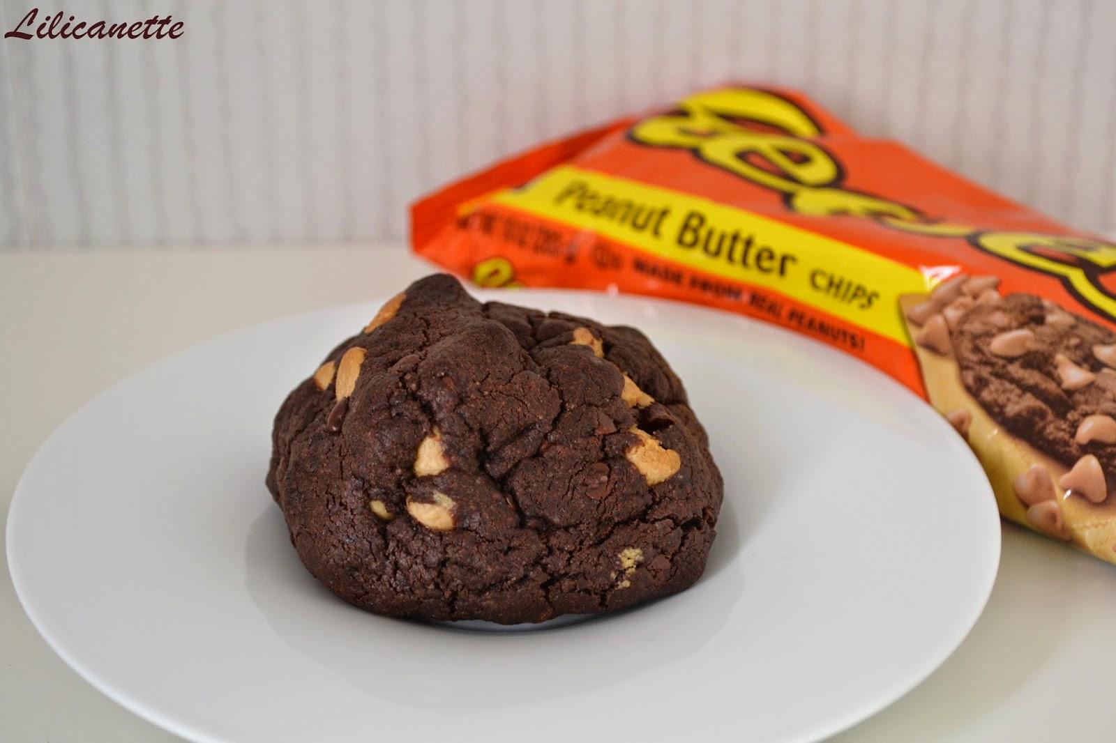 cookies chocolat noir pépites beurre cacahuète Levain Bakery