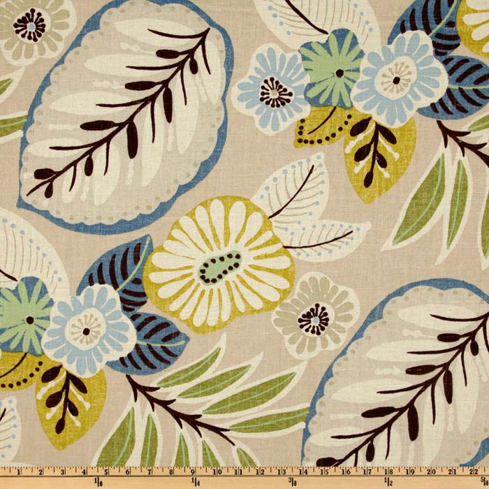 Librarian tells all modern floral upholstery options