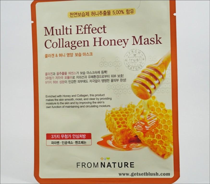 Multi Effect Collagen Honey Mask