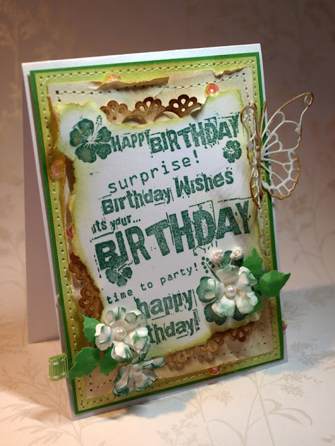 happy birthday_handmade card by Ewa Jarlińska_pearls_Vivienne Butterfly die