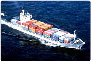 Container carriers ship