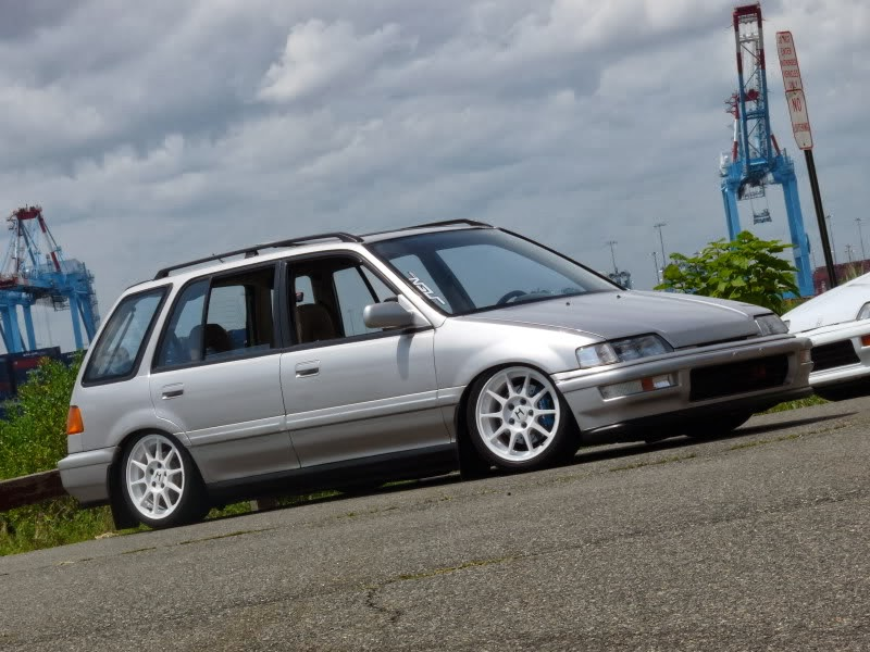 1989 Honda Civic Wagon - The Road Less Traveled - Honda Tuning ...