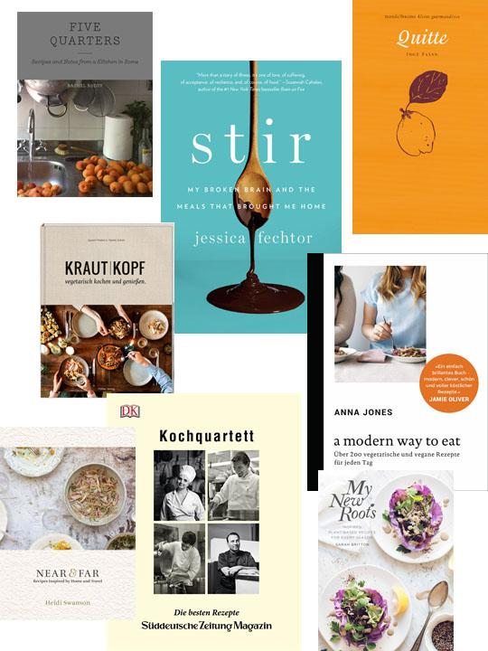 Kochbücher: Neuerscheinungen und Tipps