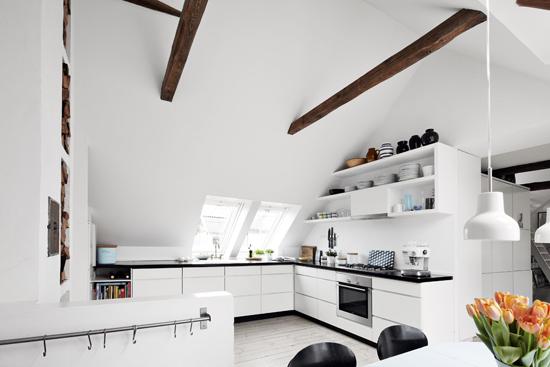 Nordisk interiør inspirasjon: fantastisk kjøkken og spisestue