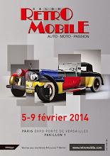 Salon RETROMOBILE du 5 au 9 février 2014