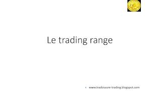 Qu'est-ce qu'un trading range en bourse? Tutoriel analyse technique. 1