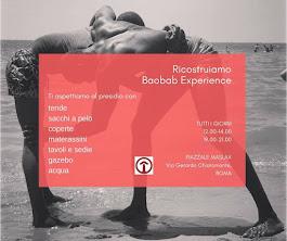 RICOSTRUIAMO INSIEME BAOBAB EXPERIENCE