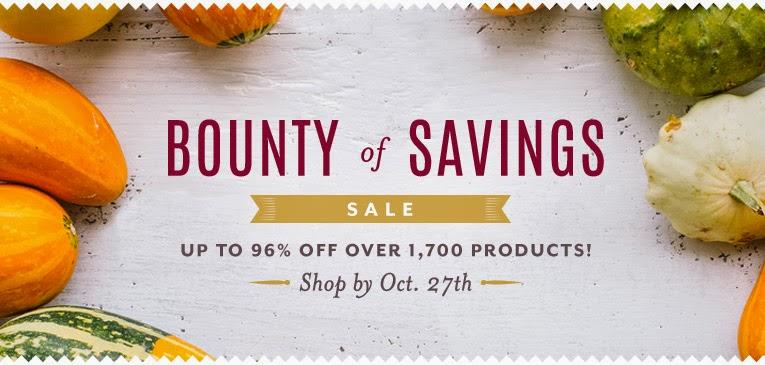 Bounty of Savings