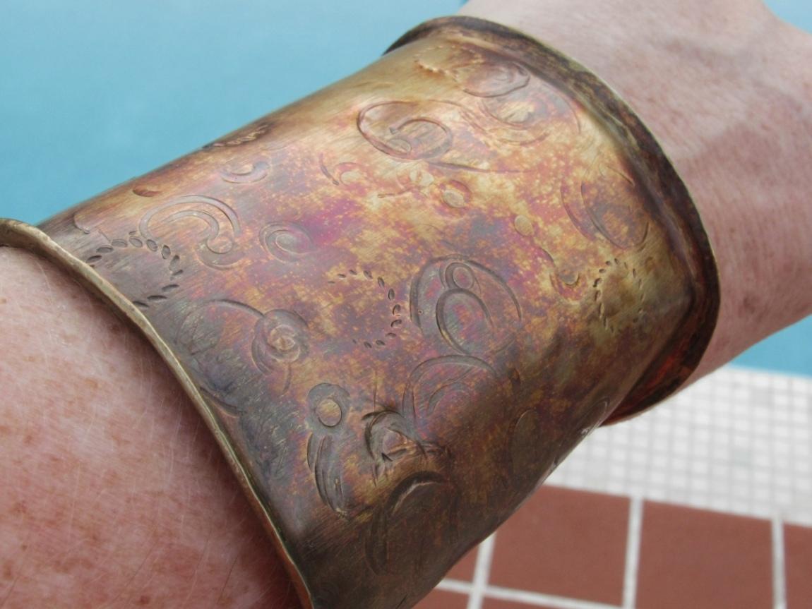 Bajuna Jewelry S Helpful Hint Blog How To Make A Textured