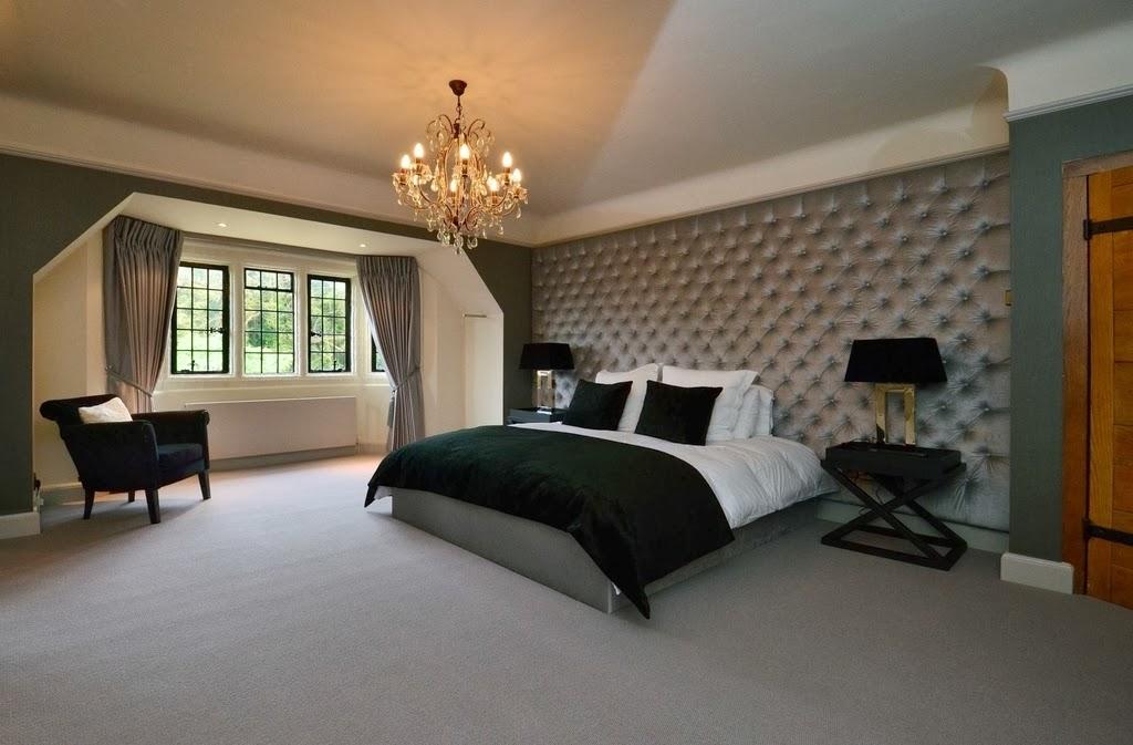 Desain lantai karpet simple dan hangat
