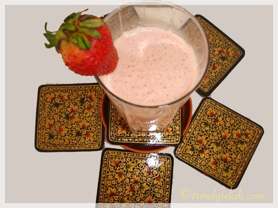 Strawberry - Banana Smoothie