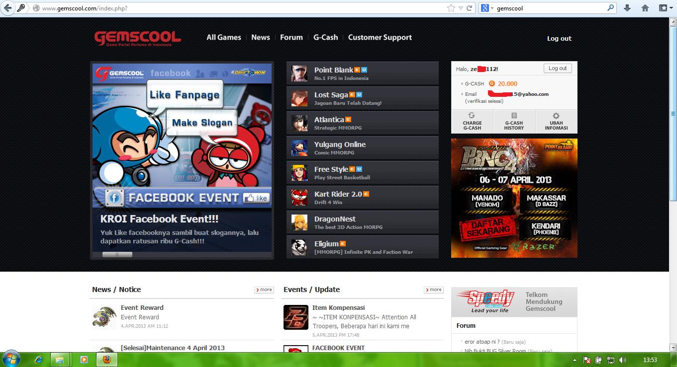 Gambar Pb Gemscool Game Online Indonesia Lucu Wallpaper Point Blank