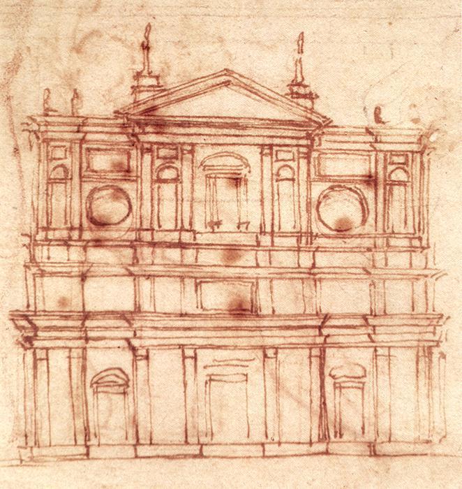 Todo arte miguel ngel buonarrotti como arquitecto - Arquitectura miguel angel ...