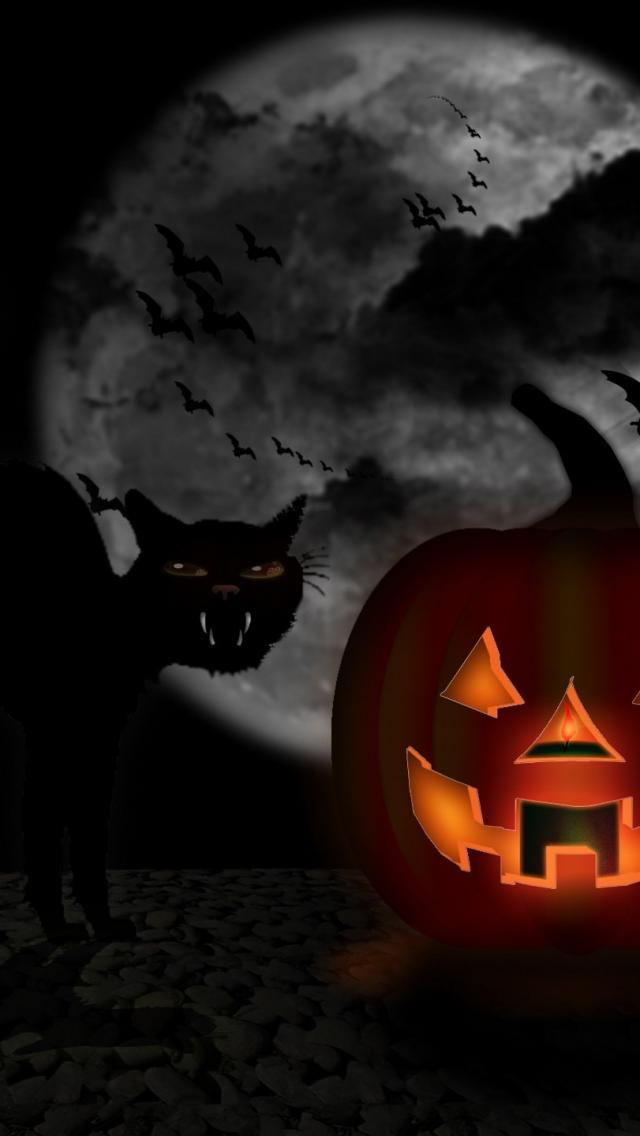 Halloween Wallpaper For Iphone 4