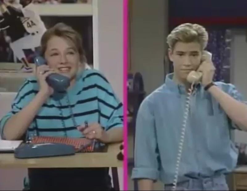 Ver salvados por la campana 2x05 ayuda por tel fono for Fuera de serie telefono