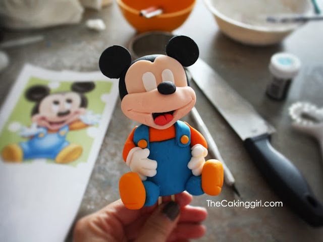 how to make gumpaste figurines tutorial