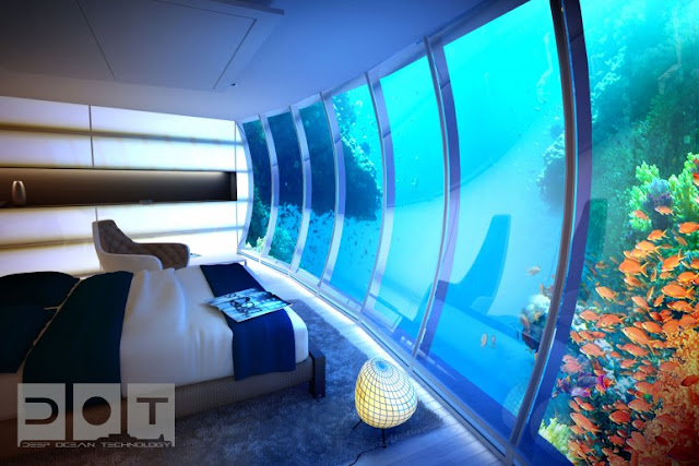 Passion for luxury underwater hotel planned in dubai for Hotel room in dubai