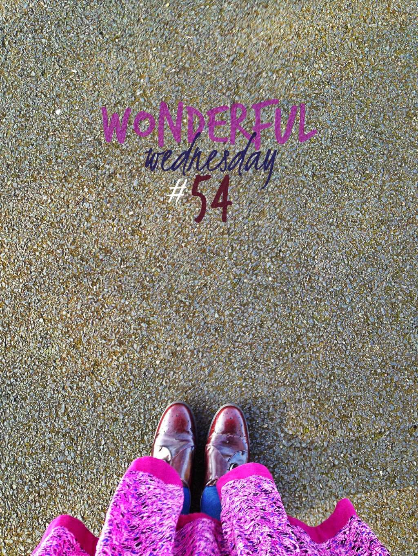 Wonderful Wednesday #54