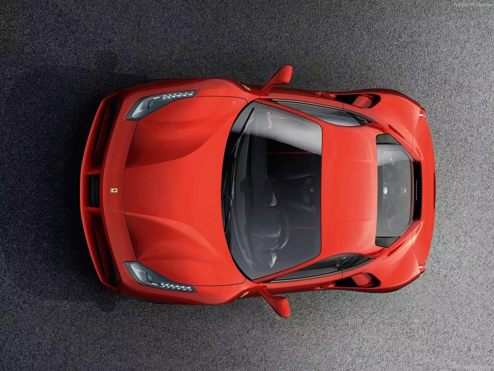 Hình ảnh siêu xe Ferrari 488 GTB 2016 & nội ngoại thất