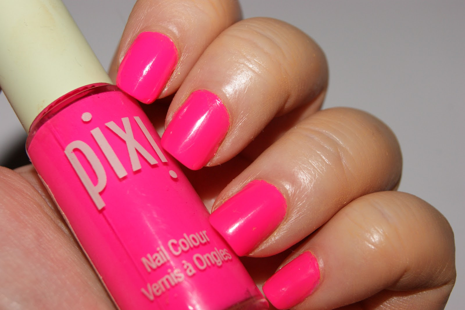 The Polish I Am Speaking Of Is Course Pixi Nail Colour In 03 Summer Pink Which Best Neon Have Ever Had Good Fortune Testing