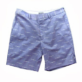 RPGs Blue Stripe Shorts