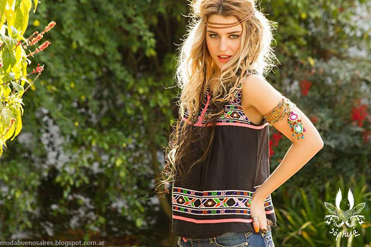 Looks de verano 2015 ropa de mujer Sophya verano 2015.