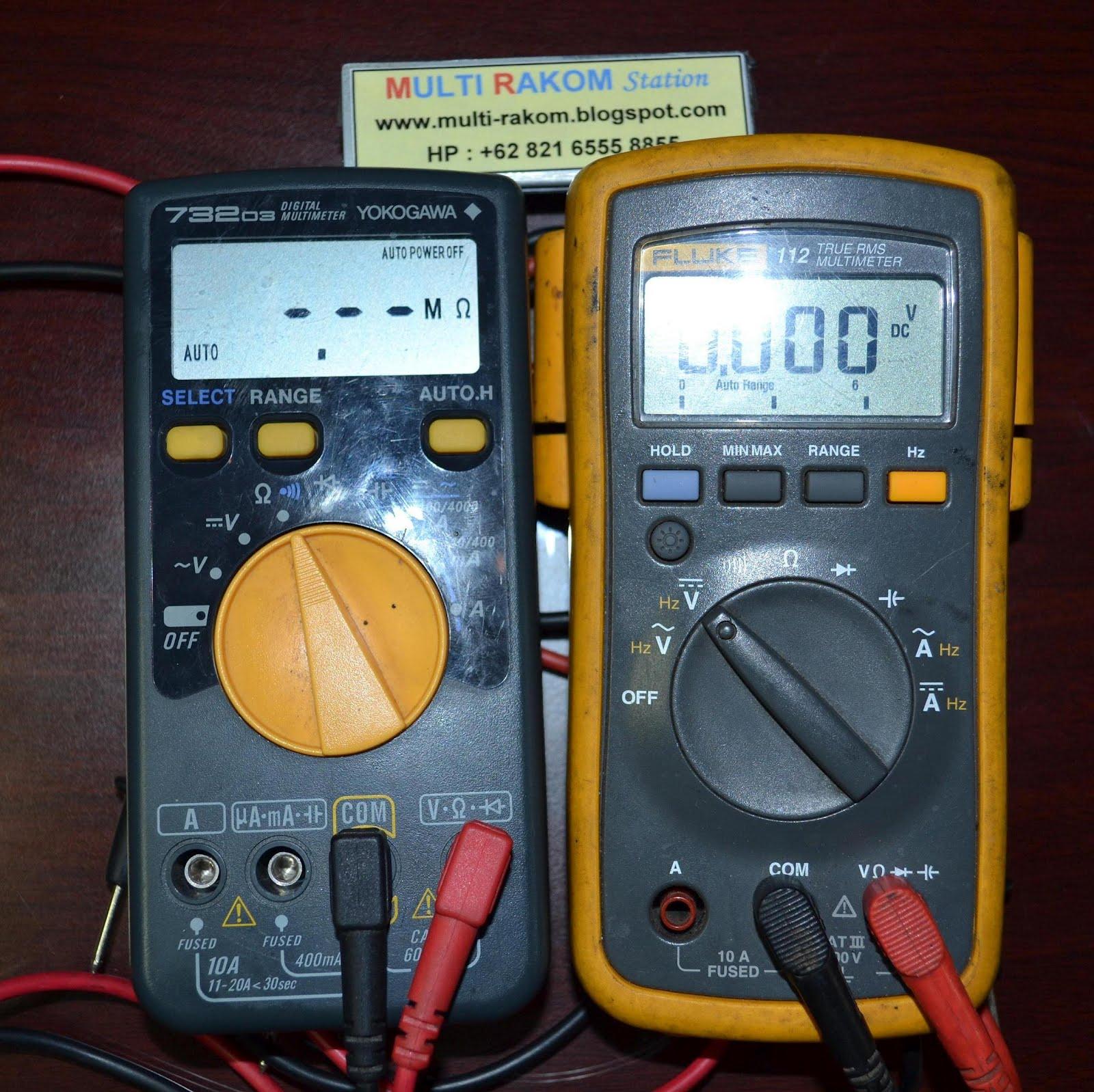 Digital Multimeter YOKOGAWA & FLUKE