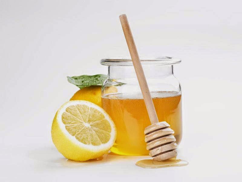 Soaked Lemon with Honey
