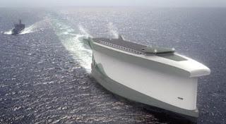 Tα φορτηγά πλοία του μέλλοντος θα κινούνται με αιολική ενέργεια
