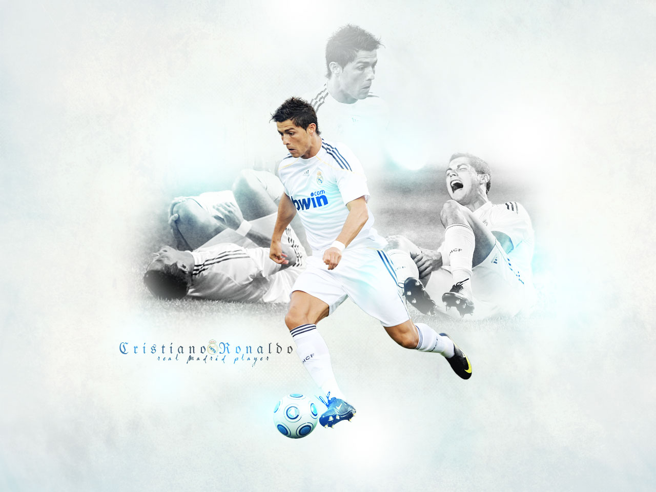 Football 2013: Cristiano Ronaldo Real Madrid Wallpapers 2012