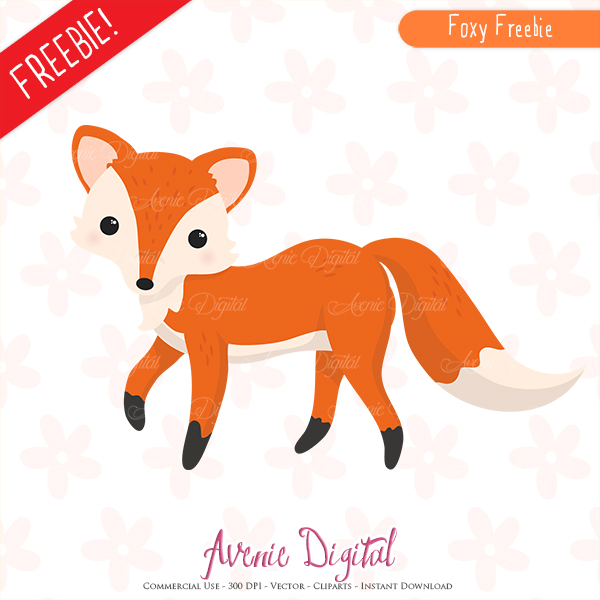 free cute fox clipart scrapbook printables autumn clip art set rh aveniedigital blogspot com free digital scrapbook clipart free digital scrapbook clipart