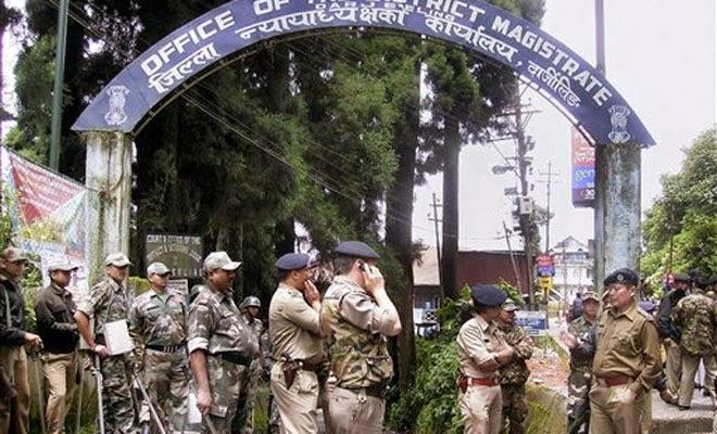 darjeeling district magistrate's office
