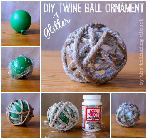 Rita ferro alvim diy texturas de natal for Water balloon christmas decorations