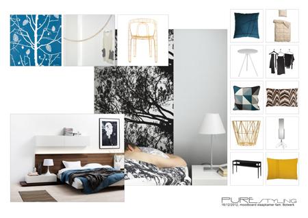 Pure styling interieur ontwerp slaapkamers for Interieur ontwerp