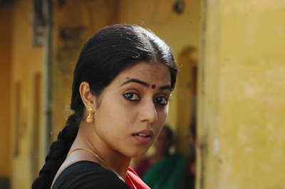 poorna in half saree cute stills