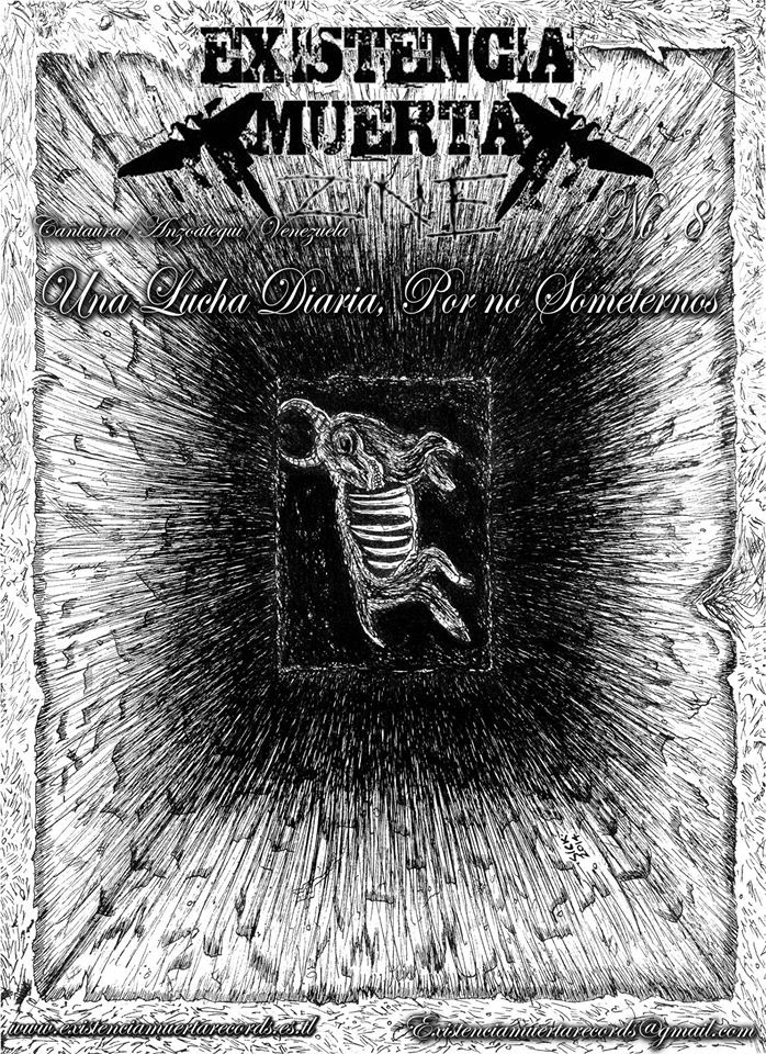 Existencia Muerta Zine 8