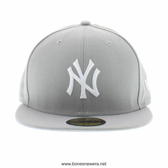 Boné New Era New York Yankees Cinza 59FIFTY