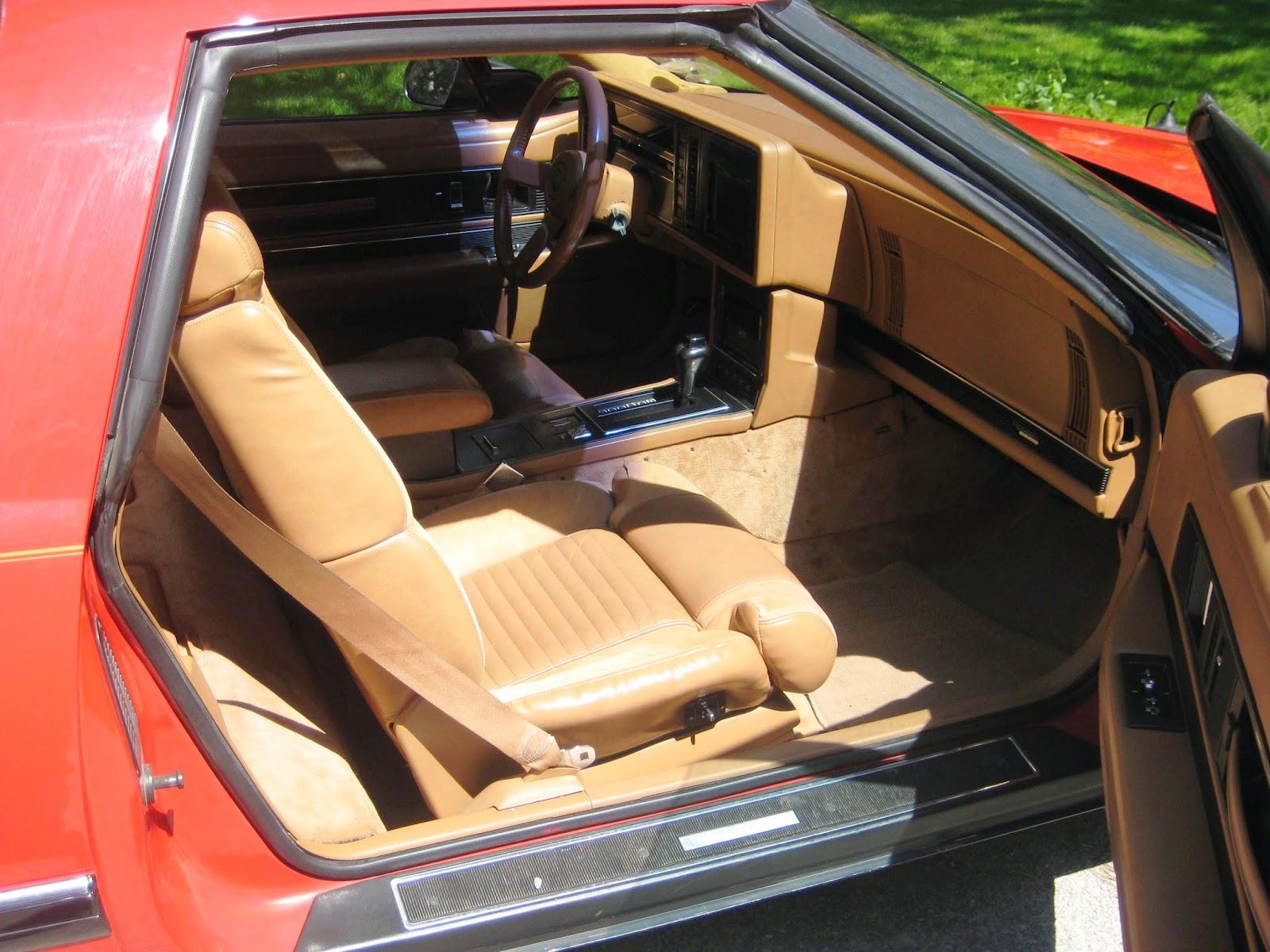 Buick Reatta Ps Interior