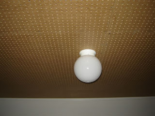Pegboard Solution for Basement Ceiling