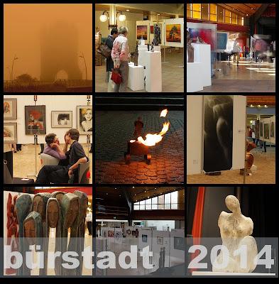 Impressionen aus Kunstausstellung in Bürstadt Olga David