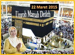 Umroh Bersama Mamah Dedeh 2015